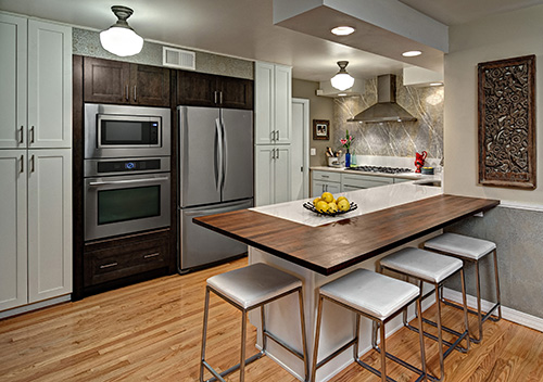 A Newly Remodeled Kitchen Constructed By DreamMaker Kitchen U0026 Bath
